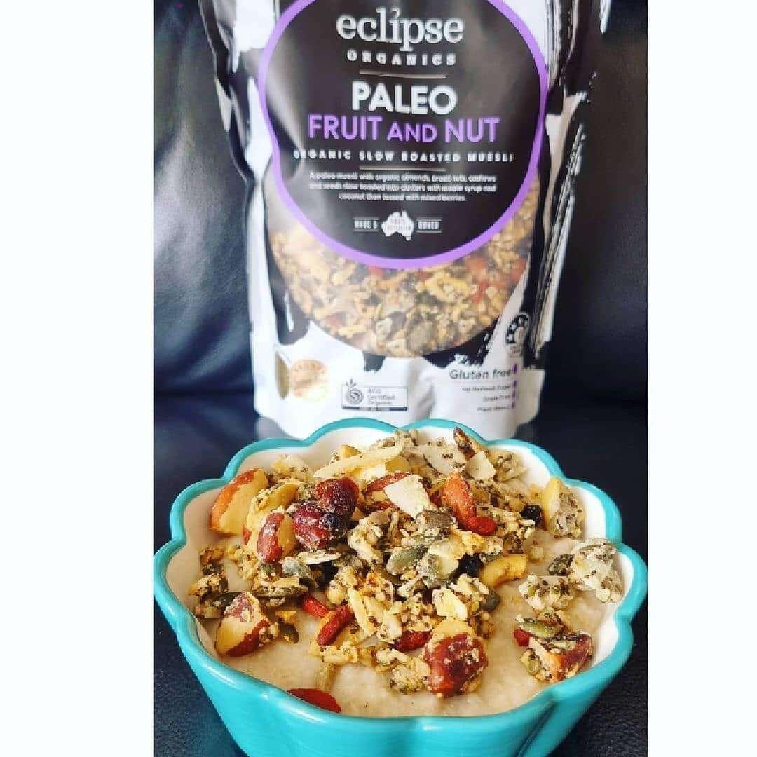 Paleo Fruit & Nut Muesli Lunch